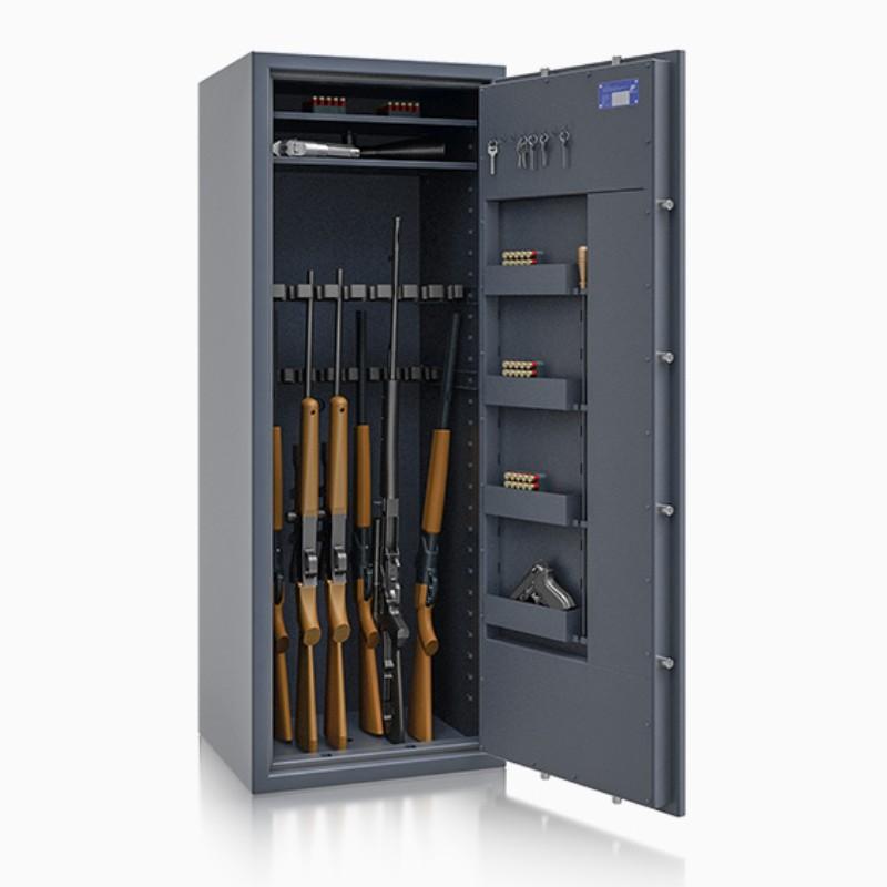 Szafa na broń długą klasa l GUNZ MAX 56468.11