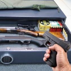 Sejf na broń DRAWER 135 EL