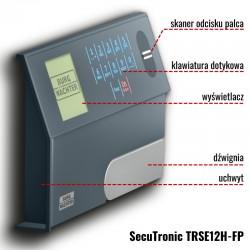 Sejf ognioodporny Diplomat MTD 780 E FP z funkcją skanowania palców