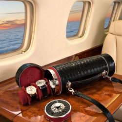 Luksusowa walizka podróżna sejf Döttling Guardian z nadajnikiem GPS