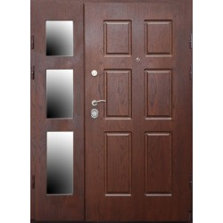 Drzwi antywłamaniowe dwuskrzydłowe DONIMET DL1.4/2 DRAGON