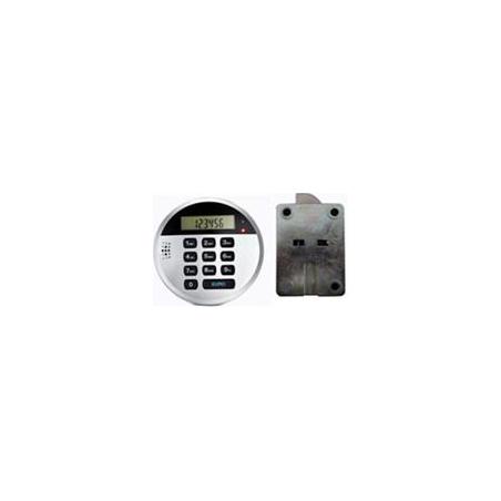Elektroniczny bezpieczny zamek z wyświetlaczem LCD /100 szt/