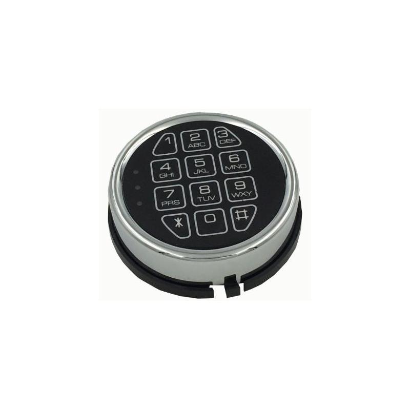 Zamek do sejfów, szyfrowy elektroniczny z funkcją blokady USB