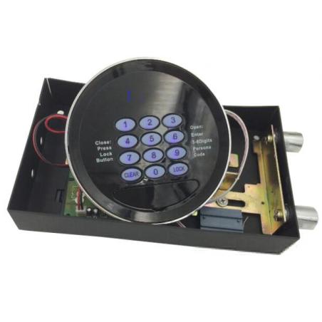 Zamek szyfrowy elektroniczny z niebieskim podświetleniem /100 szt/