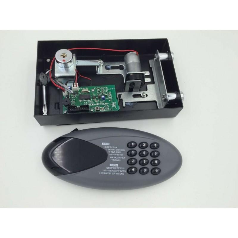 Zamek do sejfów, szyfrowy elektroniczny  z podświetlaną klawiaturą