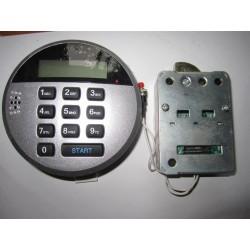 Elektroniczny bezpieczny zamek z wyświetlaczem LCD