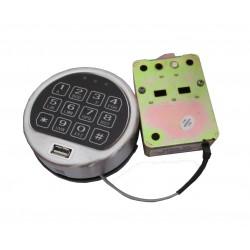 Zamek do sejfów, szyfrowy elektroniczny z funkcją blokady USB /100 szt/