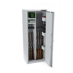 Szafa na 8 sztuk broni długiej MLB125/4+4 STANDARD