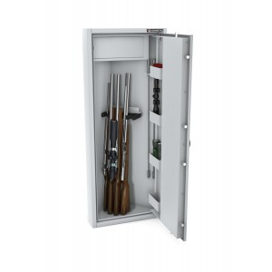 Szafa narożna na 5 sztuk broni długiej MLB narożna STANDARD