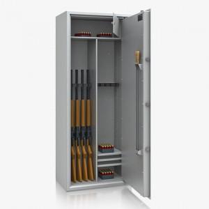 Szafa na broń długą ERLANGEN 53602