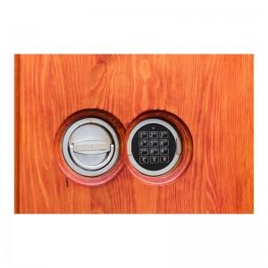 Sejf antywłamaniowy MüNCHEN 41010 EL Exclusive Lite Drewno