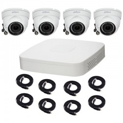 System CCTV 4 KAMERY HD
