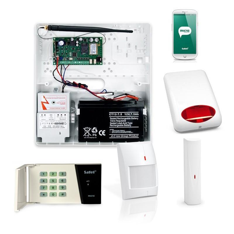 System SSWiN zestaw bezprzewodowy z powiadomieniem SMS