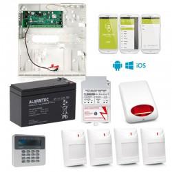 """System SSWiN zestaw """"Dla Każdego"""" z powiadomieniem SMS i sterowaniem przez telefon"""
