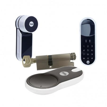Zamek ENTR Mul-t-lock z wkładką i pilotem oraz panelem dotykowym