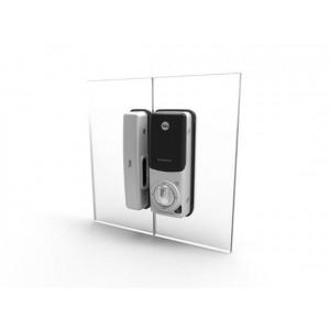 YDG313 zamek elektroniczny shine do drzwi szklanych