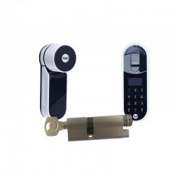 Zamek ENTR Mul-t-lock z wkładką i czytnikiem biometrycznym
