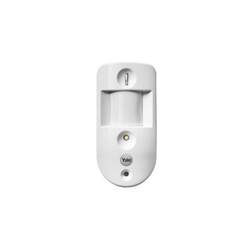 Czujnik ruchu alarmu bezprzewodowego Yale z kamerą /zdjęcia/