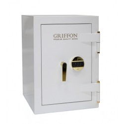 Sejf antywłamaniowy ognioodporny Griffon CLE.II.68.E WHITE GOLD