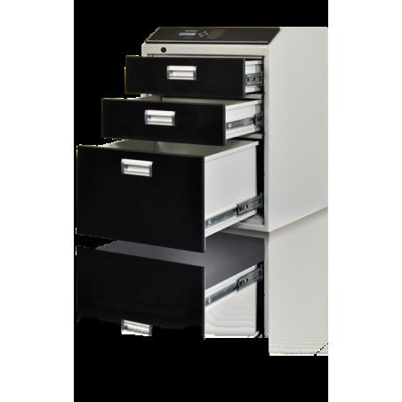 Multisejf elektroniczny XS 3-szufladowy Kl. S2