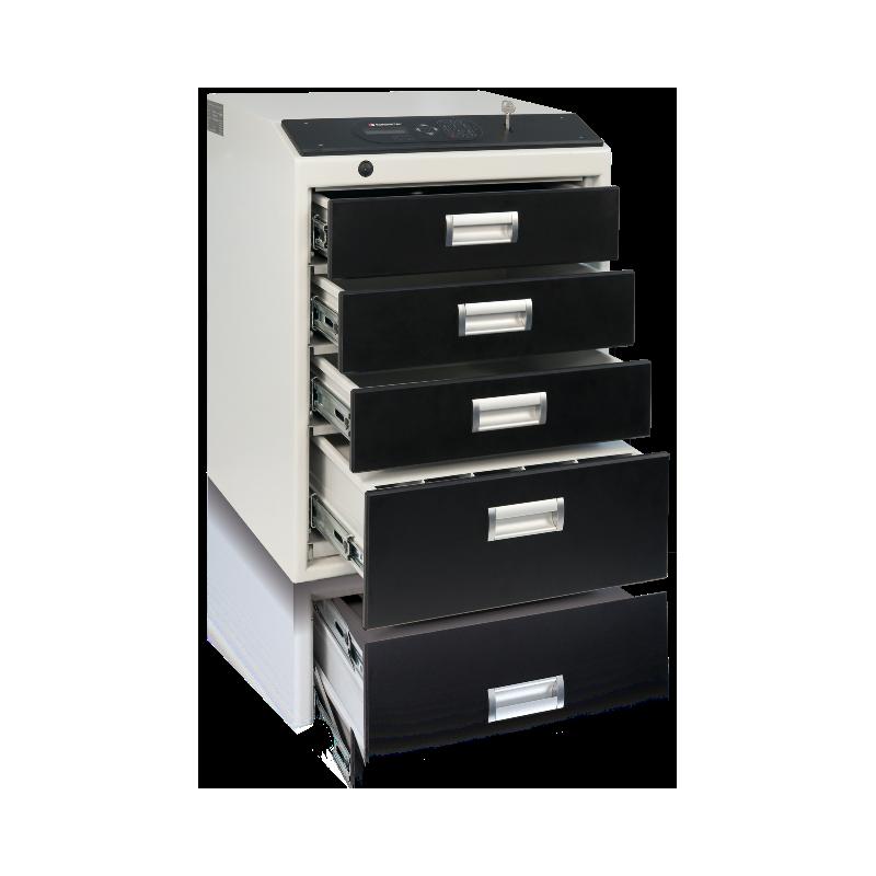 Multisejf elektroniczny XS 4-szufladowy Kl. S2