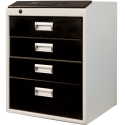 Multisejf elektroniczny XS 4-szufladowy Kl. I