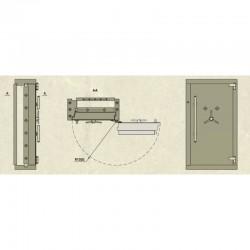 Drzwi skarbcowe HERKULES klasa IX