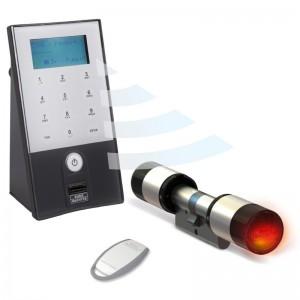 Zamek elektroniczny do drzwi secuENTRY 5702 Fingerprint na odcisk palca