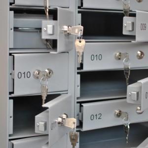 Skrytki depozytowe o połowie szerokości LOCKER DS.200/2.12