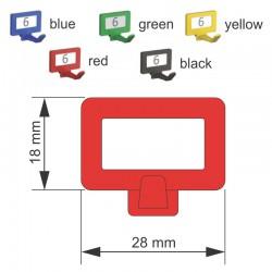 Tablica ścienna na klucze Fürth 02500