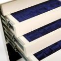 Sejf jubilerski kasa pancerna GRIFFON CL.III.50 El CREAM Jewelry z szufladami