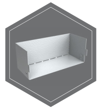 półka zawieszana na drzwiach