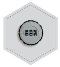 Cylindryczny zamek cyfrowy