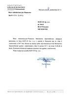 Referencje z Ministerstwa Sprawiedliwości