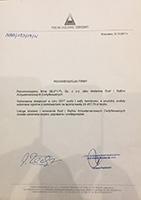 Referencje z Polskiego Holdingu Obronnego