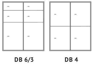 skrytki depozytowe DB 6/3 i DB 4