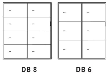 skrytki depozytowe DB-8 i DB-6