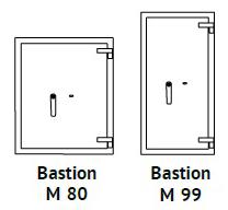 sejfy Bastion M 80 i 99