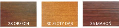 Kolory rolet drewnopodobne PA45