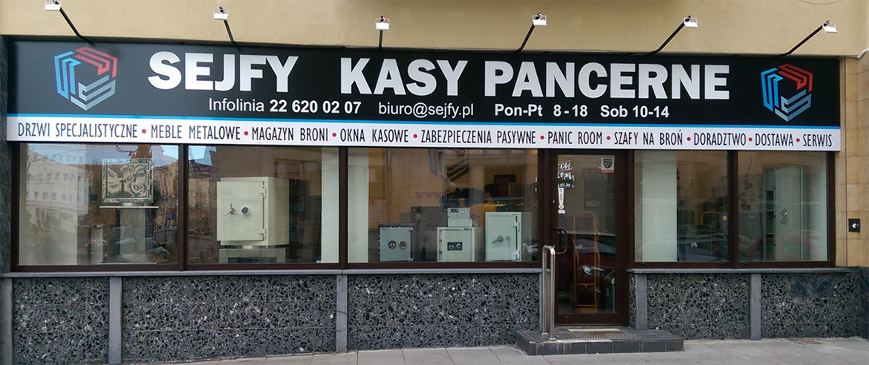 Sejfy sklep Warszawa