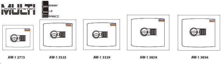 Sejfy antywłamaniowe VALBERG seria AW-1